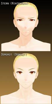 TDA Stern + Demorot Heads [DL]