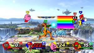 SSBU - Markie vs Mario vs Kirby vs Samus