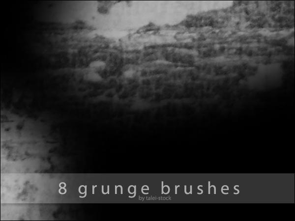 Grunge Brushes 3 by Talei-stock