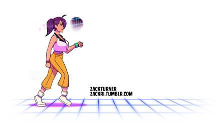 Naomi Walk Animation by ZackRI