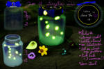 MMD Jar of Fireflies DL