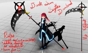 MMD Dark Sun Scythe DL by artimiss1238