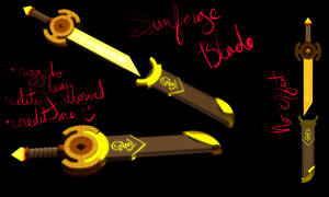 MMD Sunforge Blade DL by artimiss1238