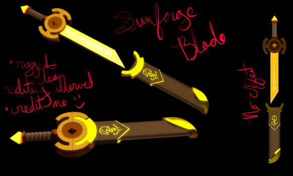 MMD Sunforge Blade DL