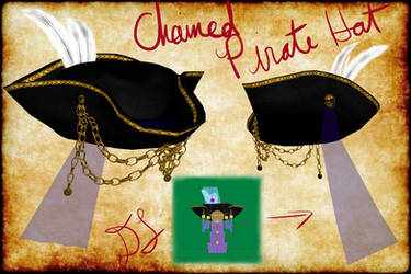 MMD Chained Pirate Hat + DL