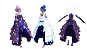 #MMD Star Sea Outfit DL(Updated and REUPLOAD)