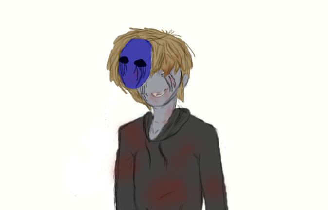 eyeless jack sketch by Purplekiller657