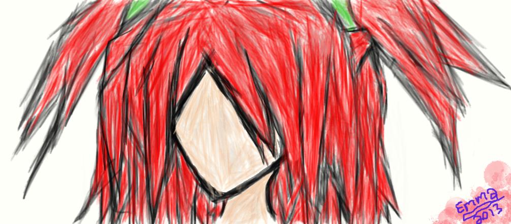 My first dA muro drawing - Nyx by Silverarrow87 on DeviantArt