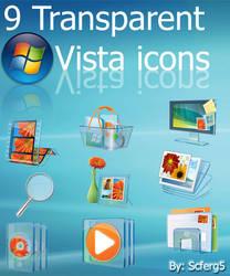 Transparent Vista icon Pack