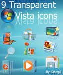 Transparent Vista icon Pack