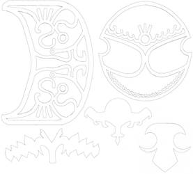 Zelda Armor Designs Printouts