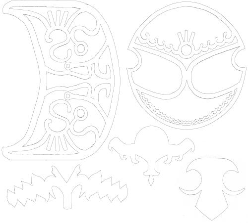 Zelda Armor Designs Printouts by Zeldaness
