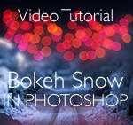 Creating a Bokeh Snow effect in Photoshop by doctor-a
