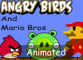 Angry Birds VS Mario Animation by Yudhaikeledai