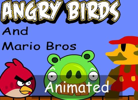 Angry Birds VS Mario Animation