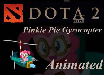Pinkie Pie DOTA Gyrocopter by Yudhaikeledai