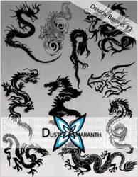 Dragon Brushes 2 by DusterAmaranth