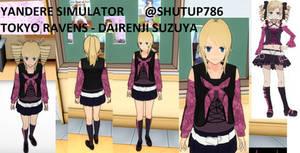 Tokyo Ravens - Dairenji Suzuka Skin