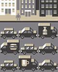 Urban chaos GIF animation