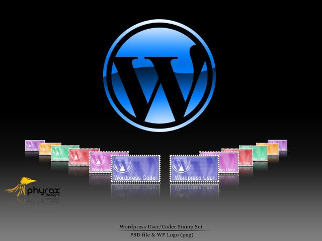 Wordpress Stamp Series 1