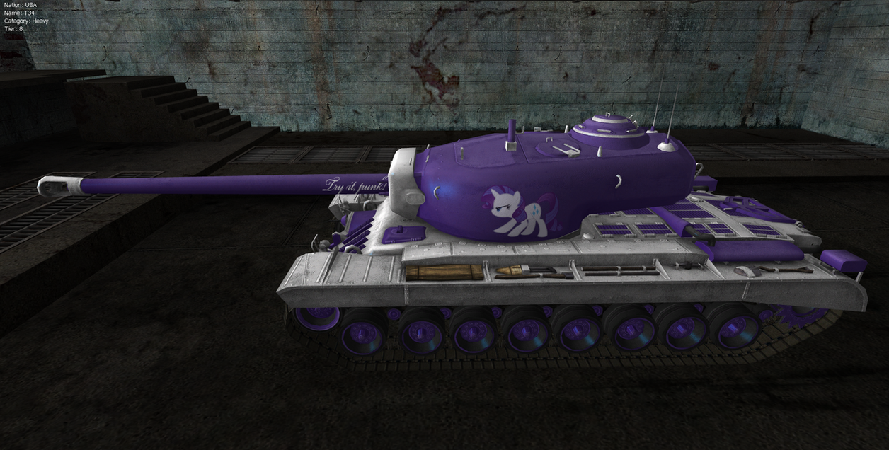 mlp world of tanks mod