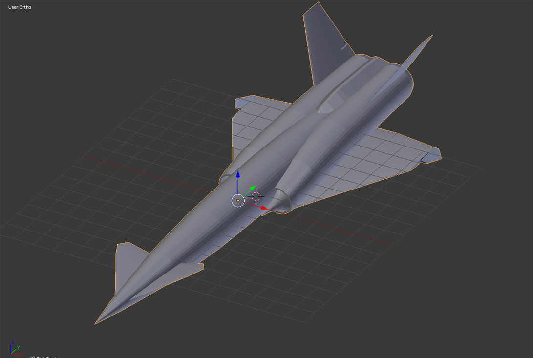 XSM-64 Navaho Blender/3DS Mesh by TheCentipede