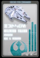 milenium falcon by jjrrmmrr