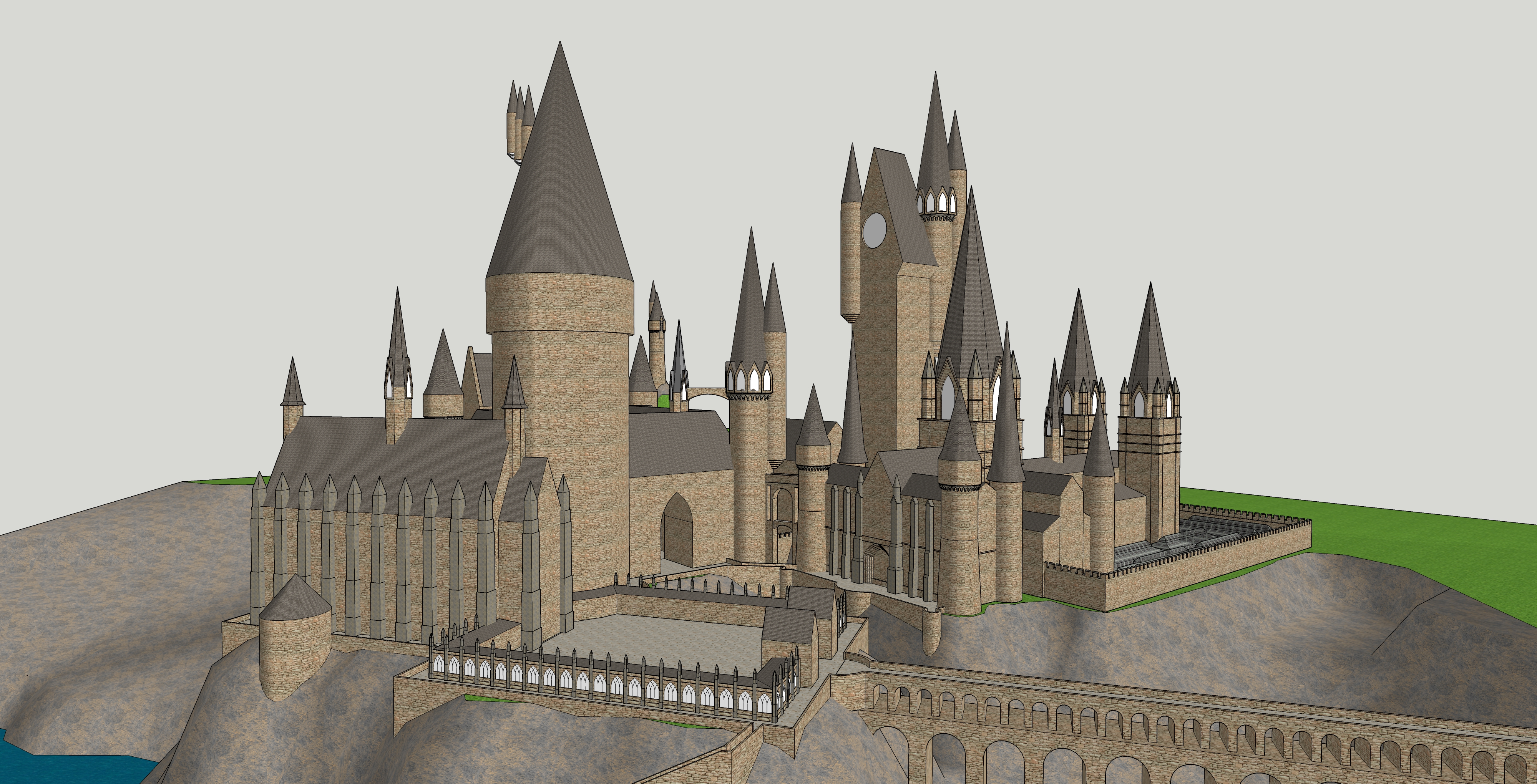 Hogwarts from Harry Potter