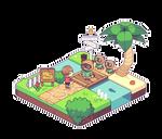 Animal Crossing 32 bit version