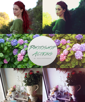 Photoshop Color Effects Actions