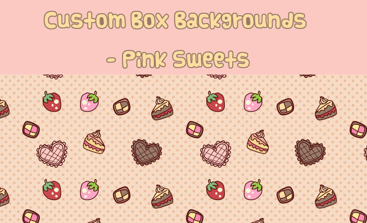 Free Custom Box Backgrounds by Minty-Kitty-Art