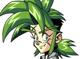 hair movement loop by JAG-Comics