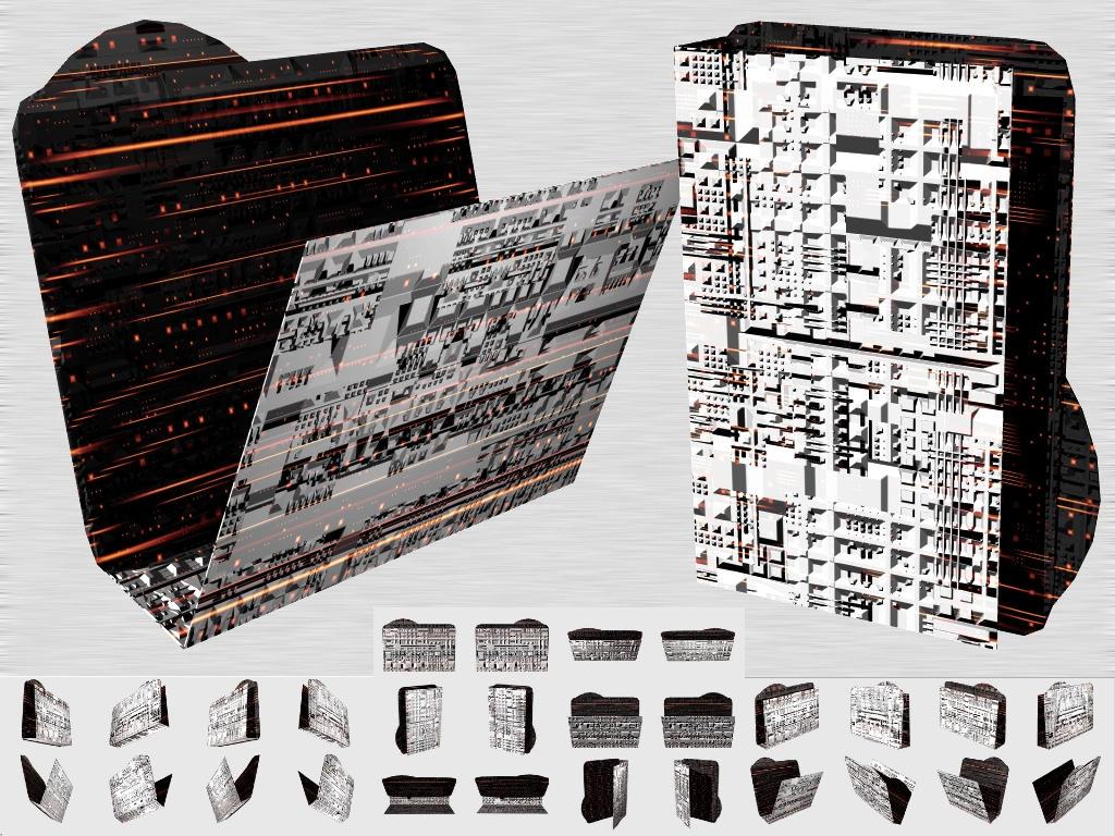 Cubepolis City Folder Icon PSD by taketo