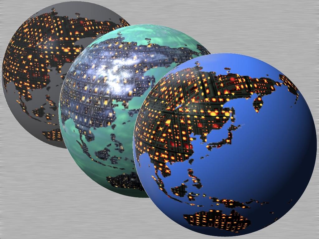 Cubepolis Globe Terra Icon set