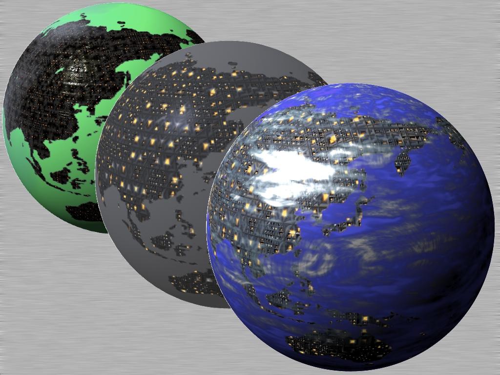 Cubepolis Globe Terra Icon PSD