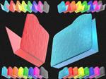 Glacier Bump 3D FolderIconPSD6