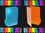 Glacier Bump 3D FolderIconPSD7