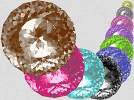 Shining Diamond Top View NIX by taketo