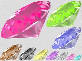 Shining Diamond Fancy Cut PSD by taketo