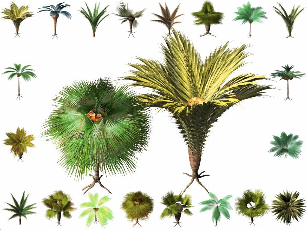 nendoloidol 3D tree Icons WIN by taketo