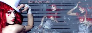 Emilie Autumn - Banner by ChaosOfNature