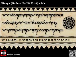 Bisaya MB Font - Ink by plus24seven