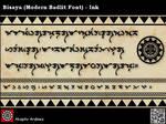 Bisaya MB Font - Ink