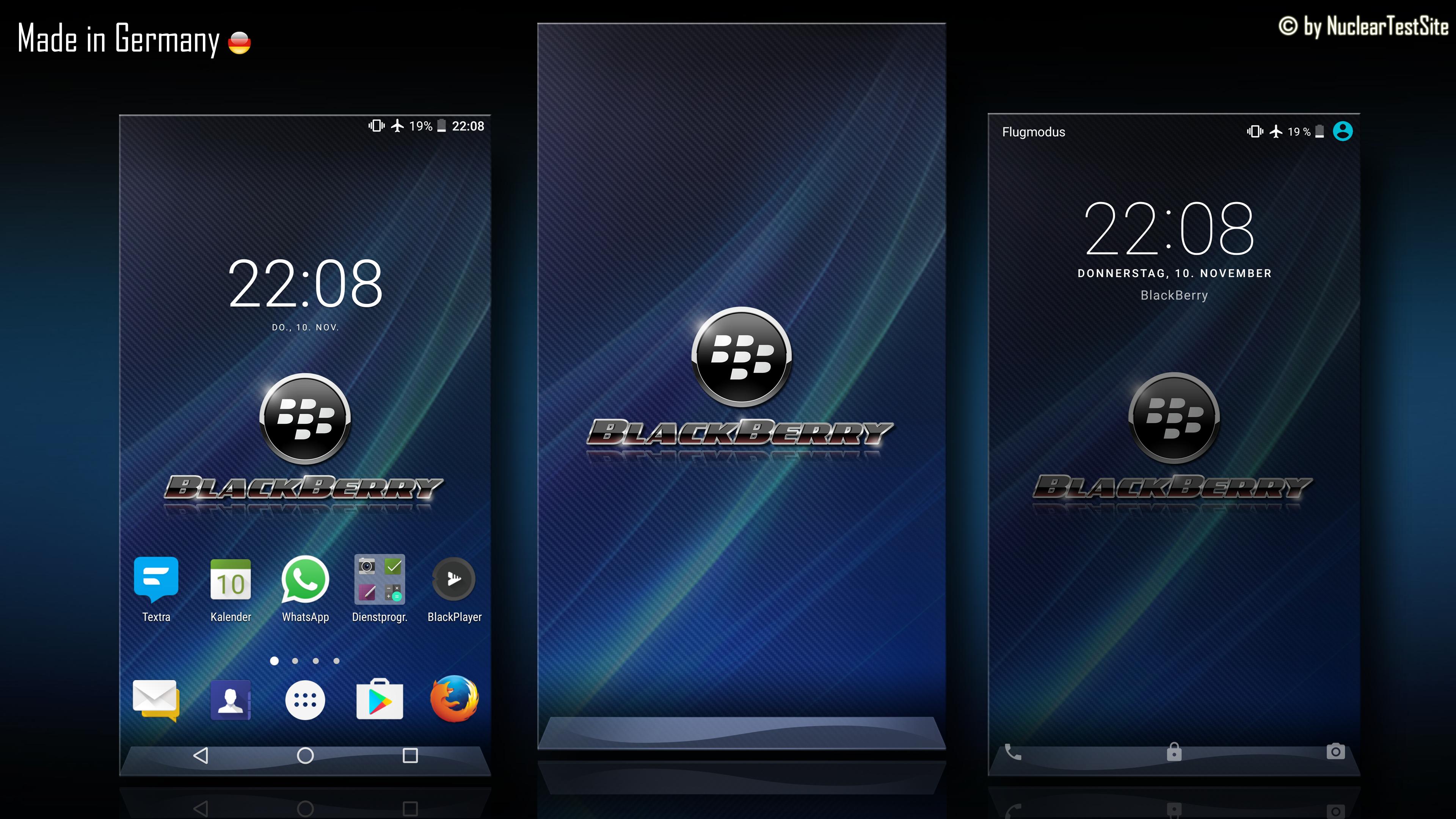 BlackBerry DTEK50 Wallpaper Pack By NuclearTestSite