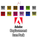 Adobe Icon Pack by WillZMarler