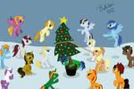 Christmas snow (animation)