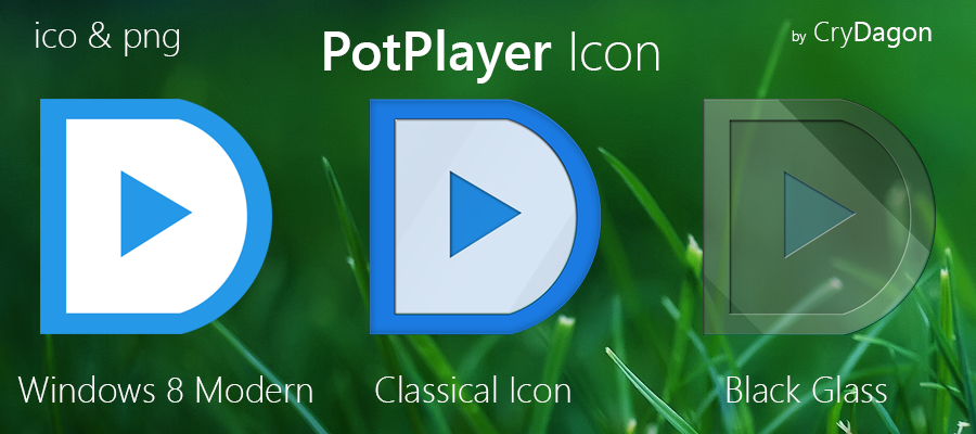 Daum PotPlayer Icon Desktop by CryDagon