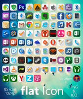 Flat Icon (Q) by CryDagon