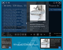 Windows 8 Media Player by TheZeoN7