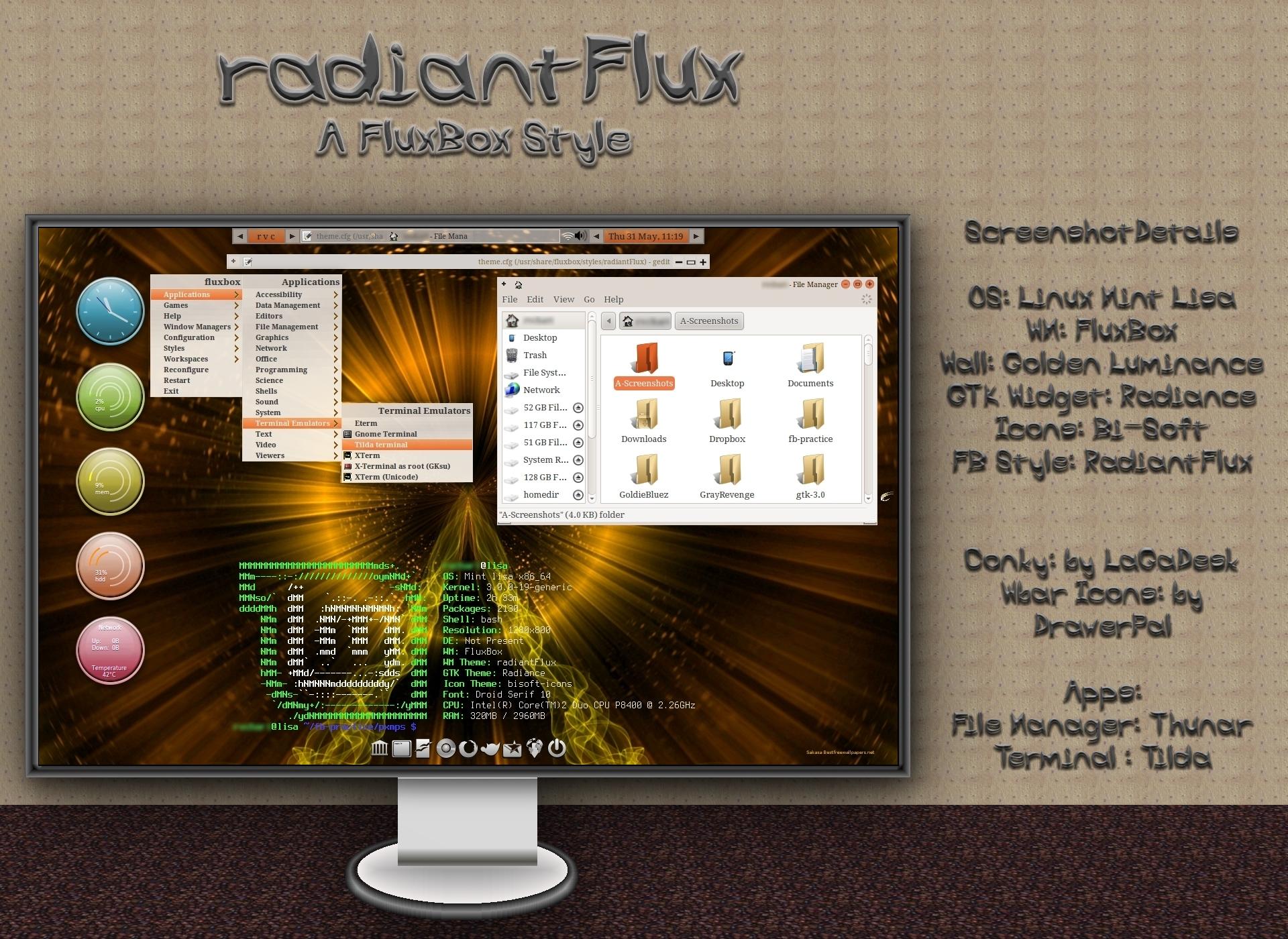 radiantFlux - A FluxBox Style by rvc-2011 on DeviantArt
